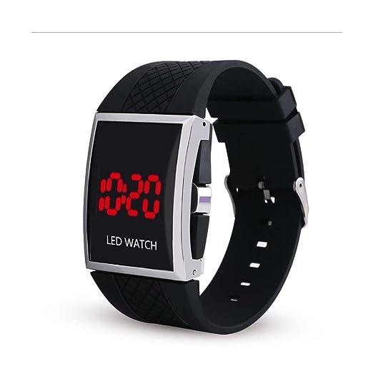 Amazon.com: SolarM Mens LED Digital Sport Watch Relojes Deportivos Para Hombres: Sports & Outdoors