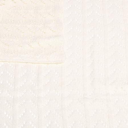 Manta de Bebé Tricot de Punto (75x100, TRICOT Cruda)