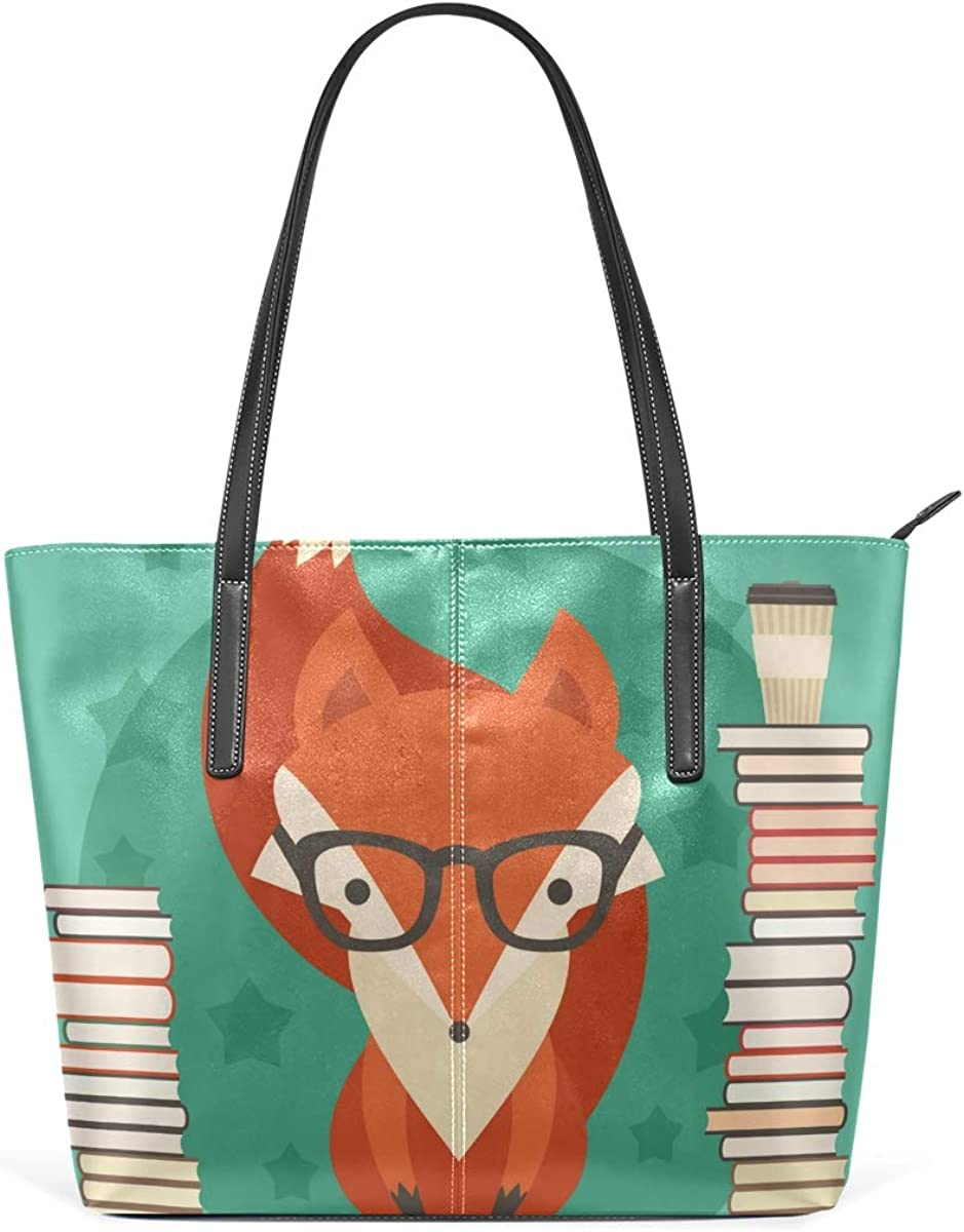 DEZIRO Fox Learning - Bolso de hombro para mujer: Amazon.es ...