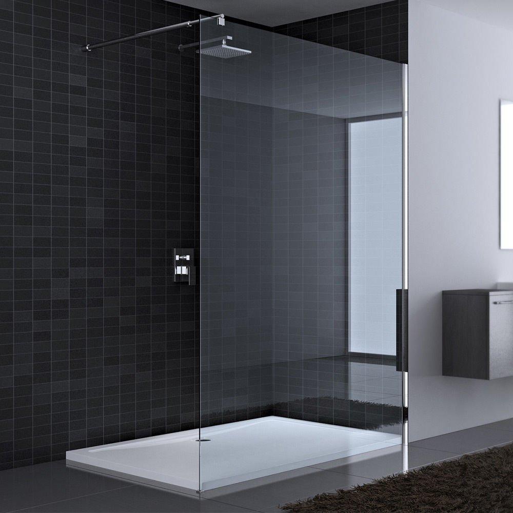 130x200 cm Luxus Duschwand aus Echtglas Bremen1K, ESG ... | {Luxus duschkabine 72}