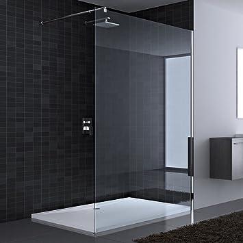130x200 cm Luxus Duschwand aus Echtglas Bremen1K, ESG ...   {Duschabtrennung glas walk in 74}