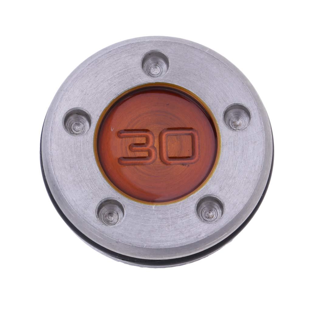F Fityle Peso Personalizado de Metal Antioxidante para Palo ...