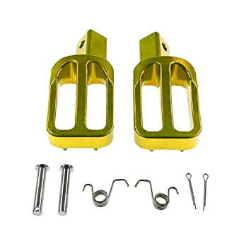 CNC Footpegs Foot Rest Fit Chinese 110 125 140cc CRF KLX Thumpstar Pit Dirt Bike