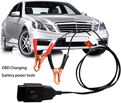 Perpetualu Obd Batteriewechsel Werkzeug Obd Kfz Diagnosestecker Werkzeug Fahrzeug Ecu Notstromversorgung Auto