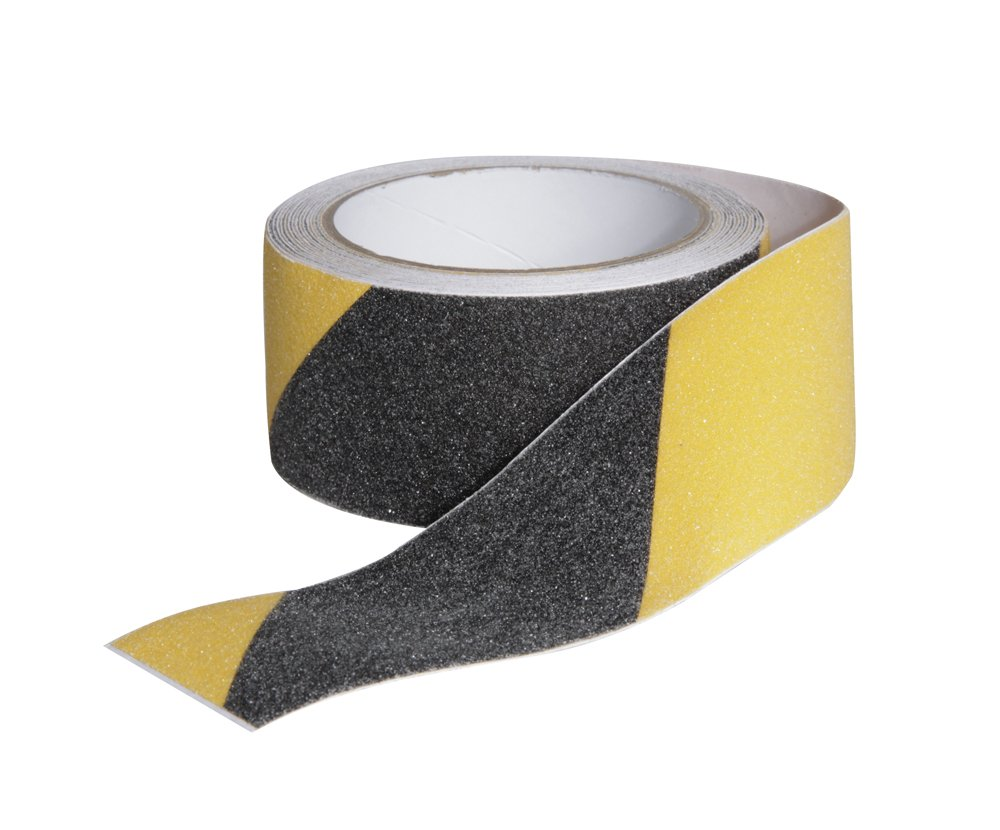 Camco 25405 Non-Slip Grip Tape for Steps 2 x 15, Black//Yellow