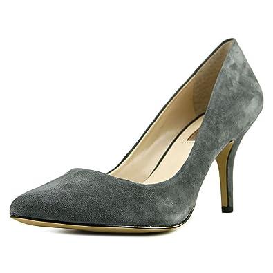 ec479642094 INC International Concepts Zitah Women Heels Closed Toe Classic Pumps Shoes  Dark Gray US 7.5 W