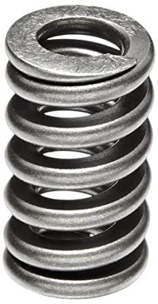 Heavy Duty Compression Spring Chrome Silicon Steel Alloy Inch 0 75 Od 0 125 X 0 165 Wire Size 2 5 Free Length 2 125 Compressed Length 150lbs Load Capacity 400lbs In Spring Rate Pack Of 5 Amazon Com