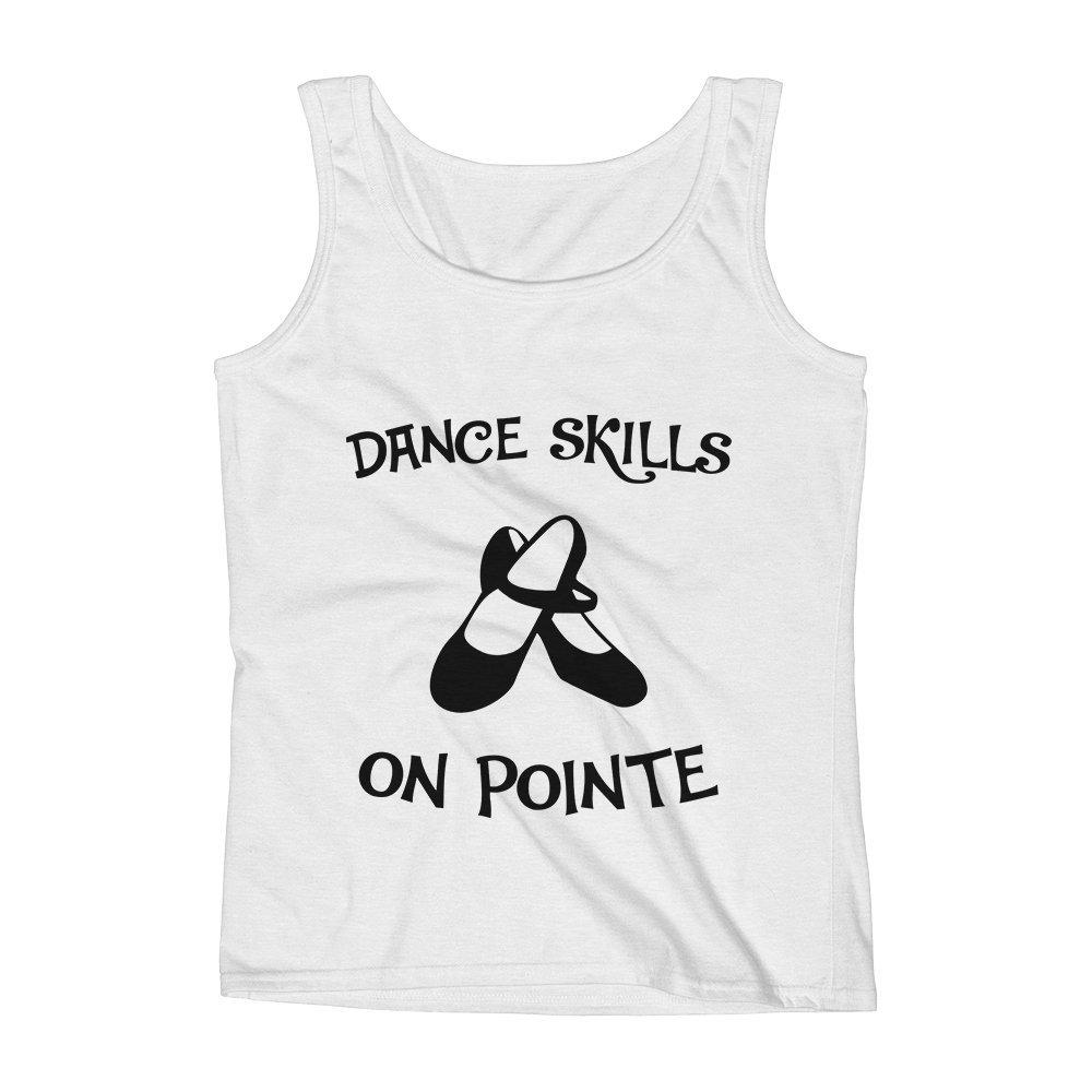 Mad Over Shirts Dance Skills On Pointe Unisex Premium Tank Top