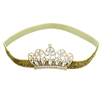 Girls Kids Children Baby Princess Party Birthday Crown Tiara Hair Head Band