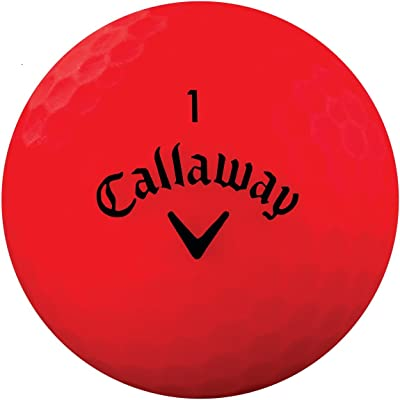 callaway superhot bold red golf balls review