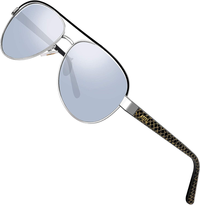 ATTCL sunglasses - Lunettes de soleil - Homme M Silver