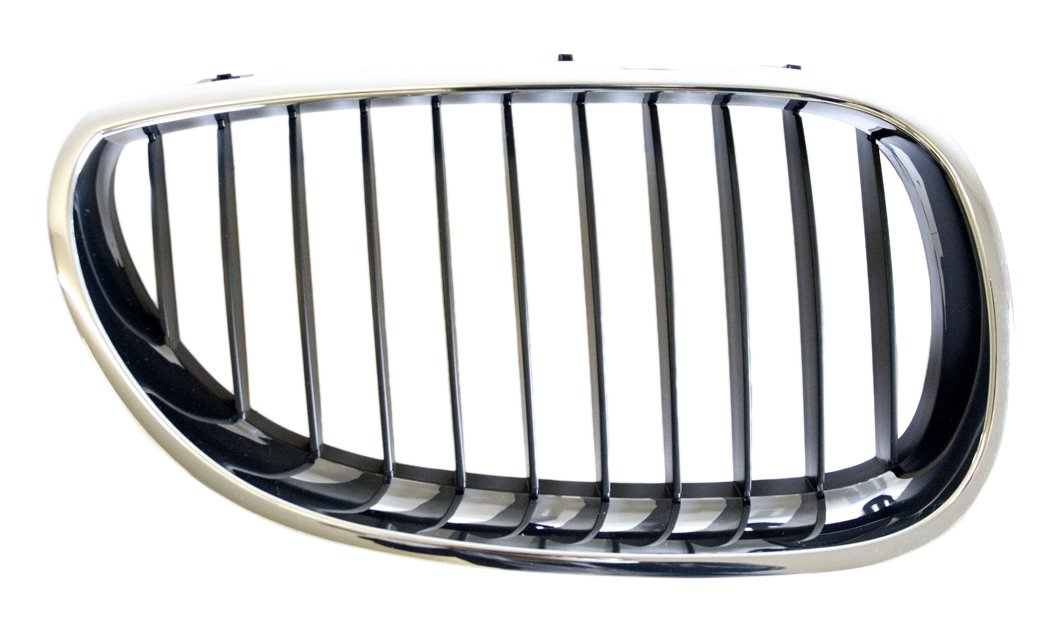 IPCW CWG-BM1507B2 Right Side//Passenger Side Chrome//Black Replacement Grille