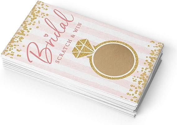 Juego de rascar para despedida de soltera, 30 cartas, boletos de ...