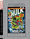 img - for Marvel Masterworks: The Incredible Hulk Vol. 11 book / textbook / text book
