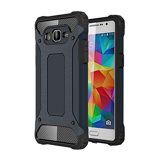40 opinioni per Custodia per Samsung Galaxy Grand Prime (SM-G530)- Skitic Armatura Rugged Heavy