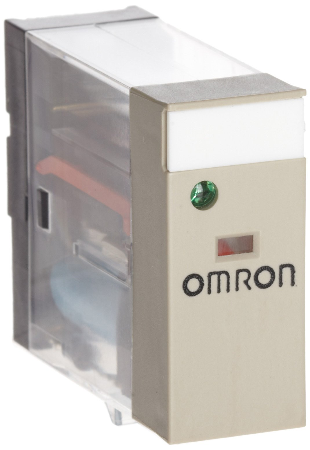 Omron G2R-1-SND DC24(S) General Purpose Relay, LED Indicator and Diode, Plug-In Terminals, Single Pole Double Throw Contacts, 21.6 mA Rated Load Current, 24 VDC Rated Load Voltage