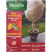Vilmorin - Manta protectora para el frío para plantas 30 g/m² color blanco (2 m x 5m)