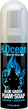 H2Ocean Blue Green Foam Soap - Best Mild Soap For Tattoos
