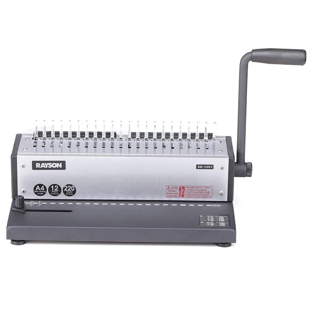 Rayson Punching & Binding Machine SD-1201 Punch 12 sheets & Bind 200 sheets