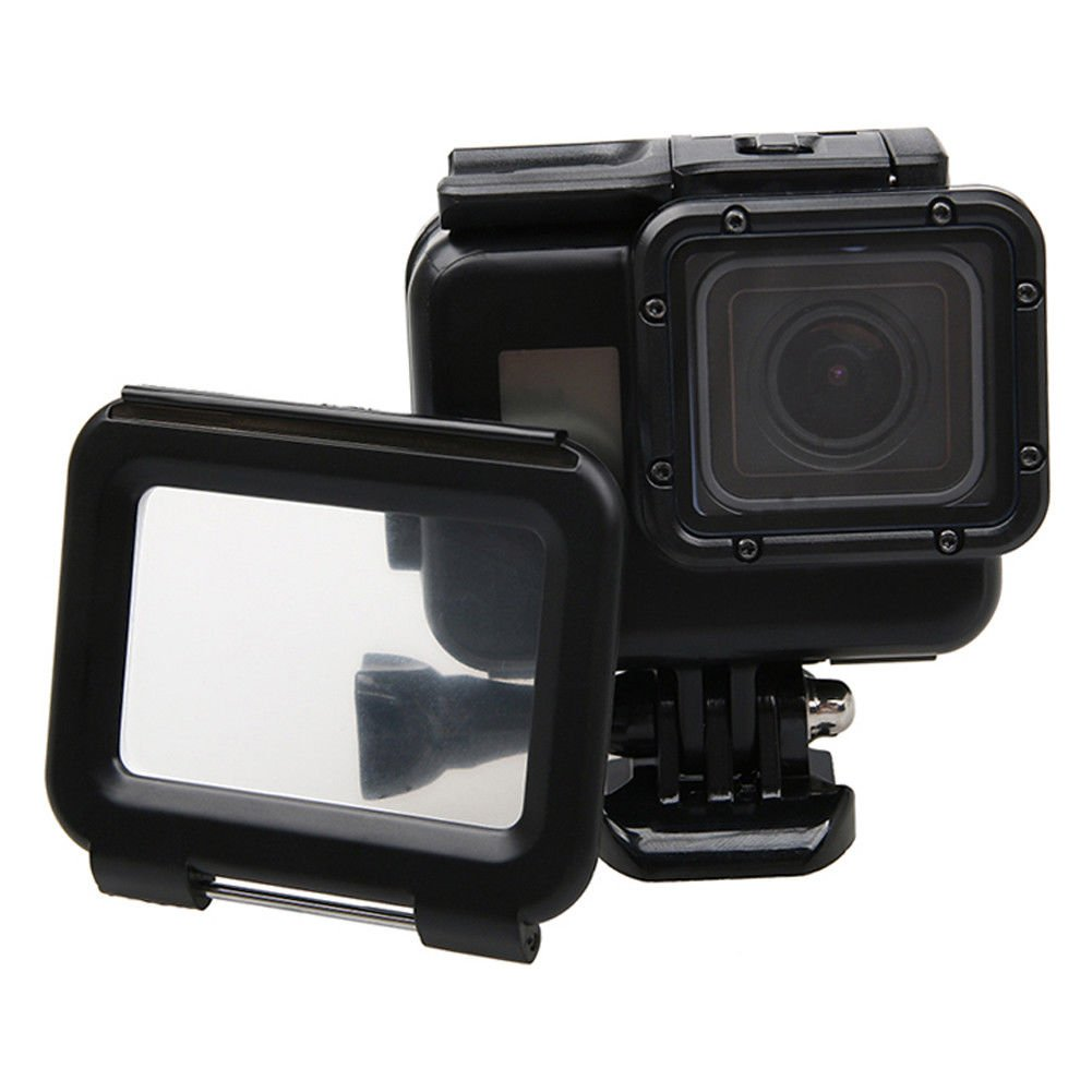 Xinvision 水深45M 防水ケース 用 GoPro Hero 6/Hero 5 Black カメラ, 水中摄影 ダイビング ハウジング ダイビング 保護 ケース with タッチスクリーン カバー カメラの部品   B07B7K1YFN