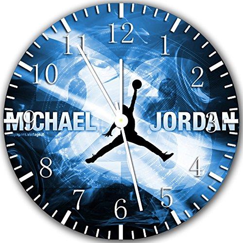 Borderless Jordan Air Basketball Frameless Wall Clock X34 Nice for Decor Or Gifts (Jordan Wall Clock)