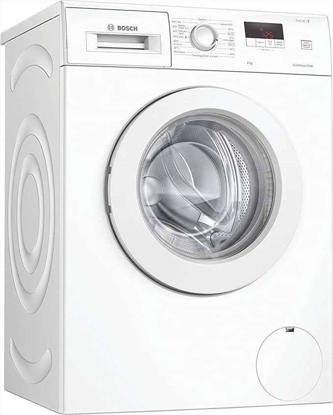 Bosch - Lavadora de carga frontal de 8 kg, clase A++, centrifugado ...