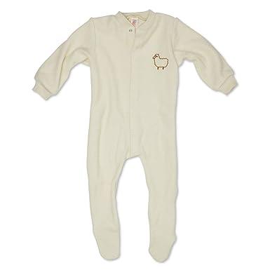 def063c1b Amazon.com  Engel 100% merino wool baby beige pajamas romper overall ...