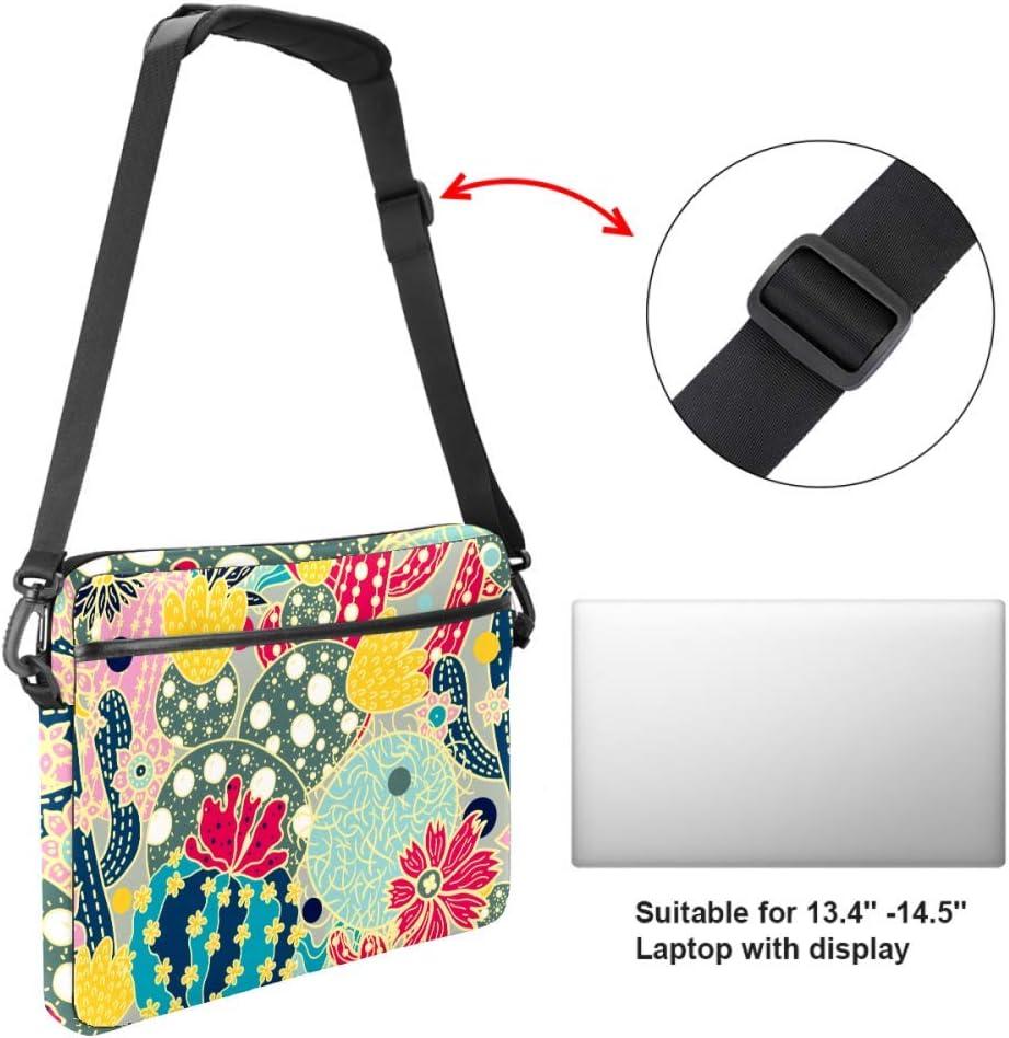 Overlord Tree Cactus Laptop Bag Satchel Tablet Sleeve Business Shoulder Bag Document Handbag Messenger Bag Briefcase 15x5.4 Inch