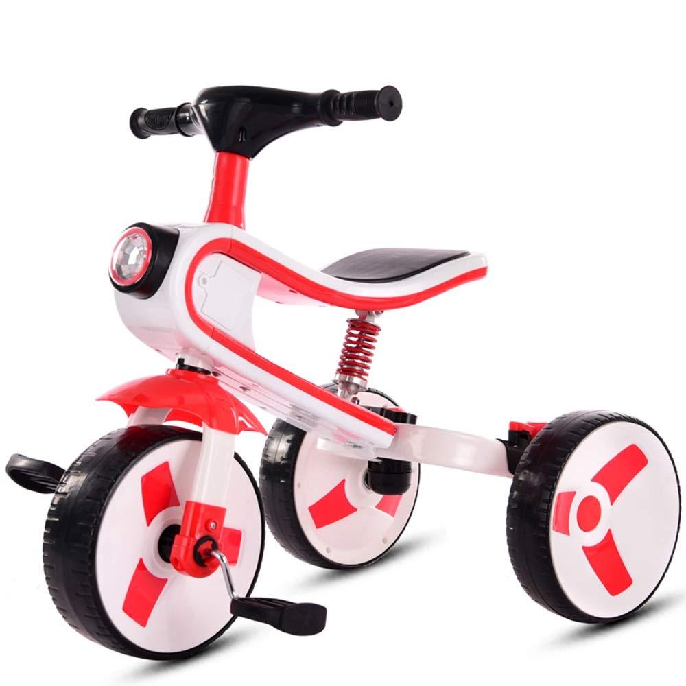公式サイト Axdwfd 赤 子ども用自転車 B07PWGN5H8 子供の三輪車音楽バイク2-7歳の誕生日プレゼント赤ちゃん自転車の積載量50キロ Axdwfd 赤 B07PWGN5H8, 大橋家具店:05c9e1af --- senas.4x4.lt