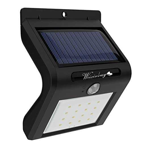 Item Name (aka Title): Weixinbuy - Luces solares de seguridad LED para exteriores