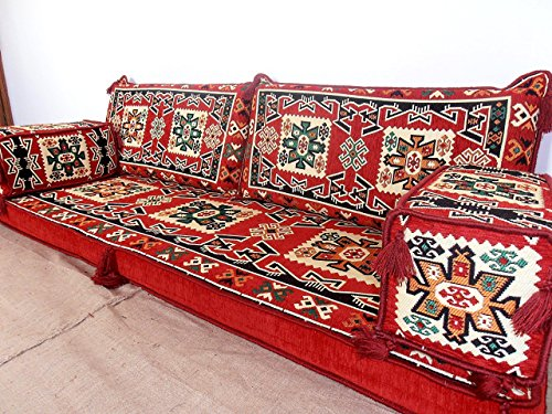 Arabic Jalsa Arabic Majlis Hookah Bar Furniture Oriental Seating Floor Couch Floor Cushions