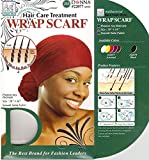 (PACK OF 12) DONNA ANTIBACTERIAL AG NANO WRAP SCARF #22078 BLACK