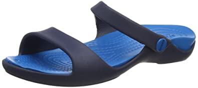 0844da5df6f5 Crocs Women Cleo V Open-Toe Sandals  Amazon.co.uk  Shoes   Bags