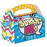 BirthdayExpress Superhero Girl Empty Favor Boxes