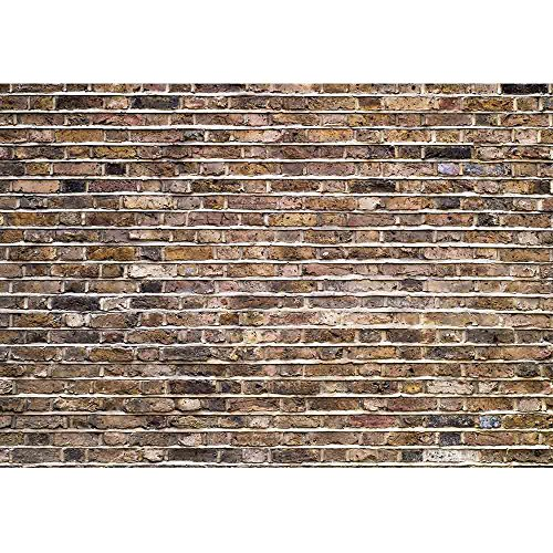wall26 Fragment of an Old Brick Wall Background - Removable Wall Mural | Self-Adhesive Large Wallpaper - 100x144 inches by wall26 (Image #1)