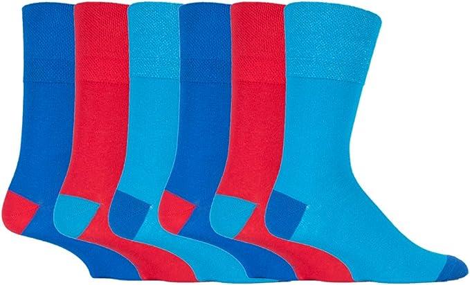 taille 6-11 6 x lycra pour HOMME chaussettes de coton
