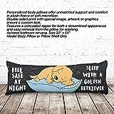 VOTANTA - Golden Retriever Sleep Body Pillows (Body Pillow 100% Polyester, 20x54'')