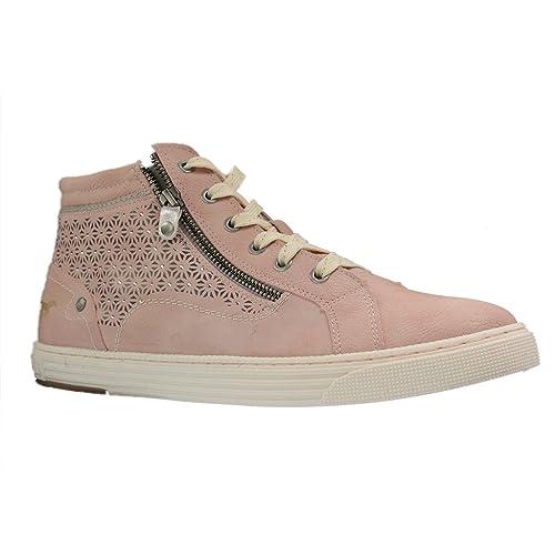 Mustang - Zapatillas para Mujer, Color Rosa, Talla 45 EU: Amazon.es: Zapatos y complementos