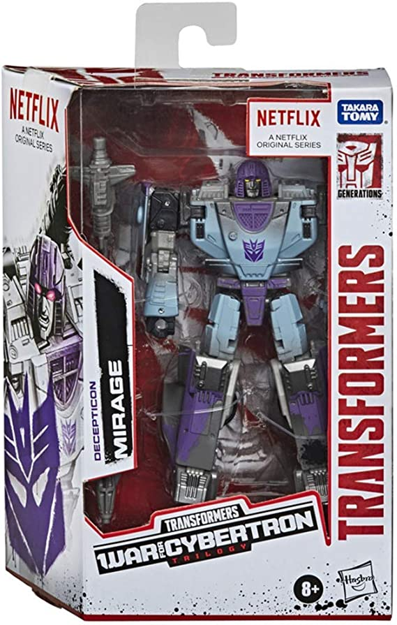 ✨NEW✨Transformers War for Cybertron Netflix Decepticon MEGATRON 3in1-Pack