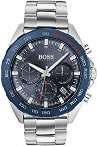 Hugo Boss Mens Quartz Watch, Chronograph Display and Stainless Steel Strap 1513665
