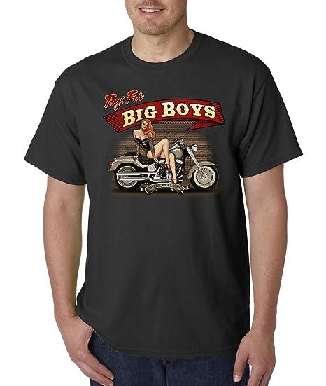 Amazon Com Toys For Big Boys Biker Motorcycle Vintage Classic Pin