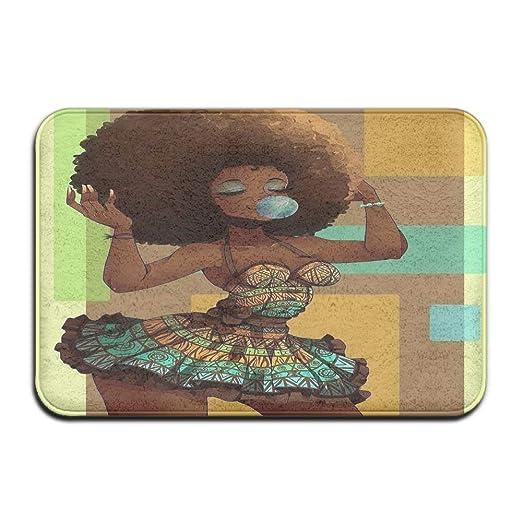Amazon.com : Needyounow African Girl, Humor Polyester ...