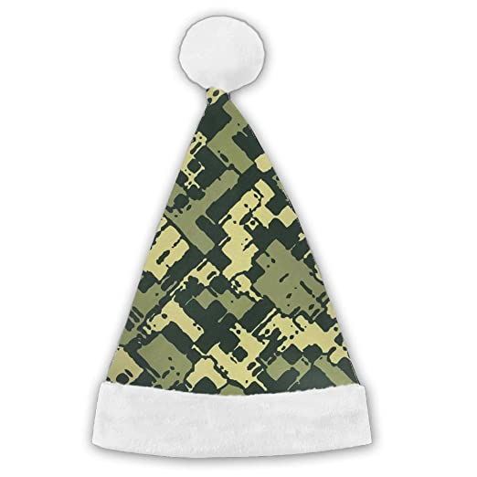 jsix7q camouflage christmas holiday decorations hats for kids adult christmas gifts nice santa hats