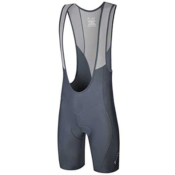 Excellent Performance and Better Fit Przewalski Mens 3D Padded Cycling Bike Bib Shorts