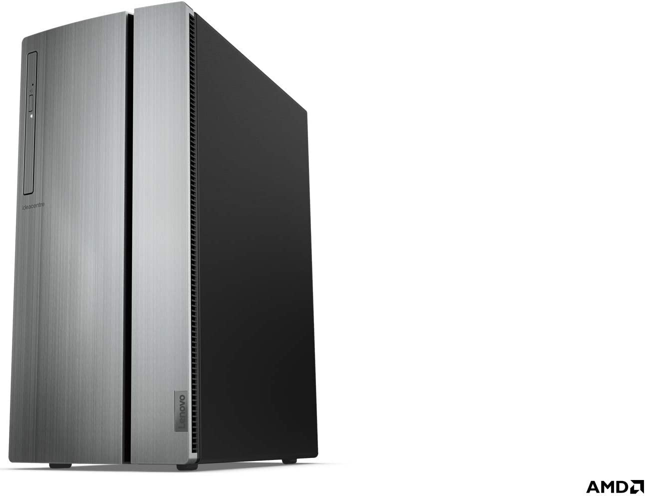 Lenovo IdeaCentre 720 Tower, 18L Desktop Computer (Ryzen 7 2700 Processor, 16 Dual Channel DDR4, 128GB PCIe, 2TB SATA HDD, AMD Radeon RX 560 Graphics, Windows 10 Home), 90HY0006US, Warm Silver