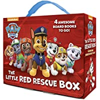 PAW Patrol: The Little Red Rescue Box Board Book