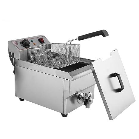 fritura freidora fría zonas 3000 W (10 litros de capacidad para maX. 6 litros