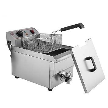 fritura freidora fría zonas 3000 W (10 litros de capacidad ...