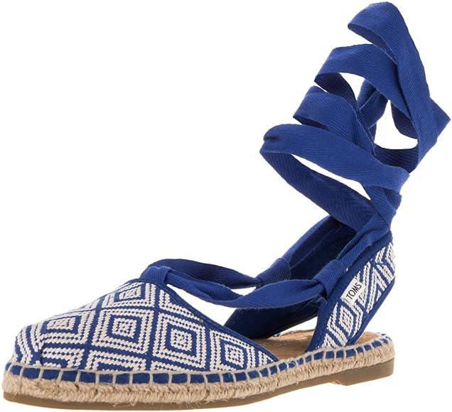 Bella Espadrille Blue Woven Sandal