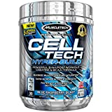 MuscleTech Cell Tech Hyperbuild Post Workout Recovery Drink Powder with Creatine and BCAA Aminos, Blue Raspberry Blast, 30 Servings (482g) Review